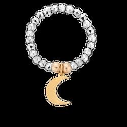 Pierścionek elastyczny Moon Kingdom Hematyt