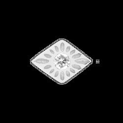 Kolczyk Mix and Match Boho Diamond Silver