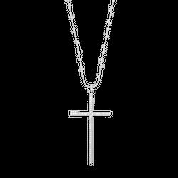 Naszyjnik Simple Cross Srebrny