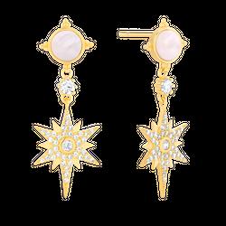 Kolczyki Mystic Star Gold
