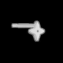 Kolczyk Bloom Silver