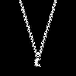 Naszyjnik New Charm Moon Silver