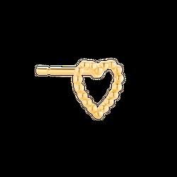Kolczyk In Love Gold