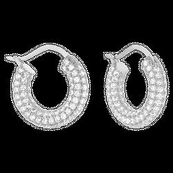 Kolczyki Calabasas Silver