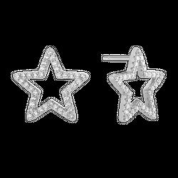 Kolczyki Baby Star Silver