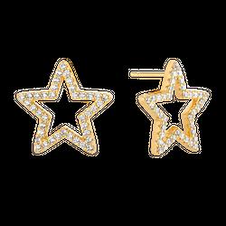 Kolczyki Baby Star Gold