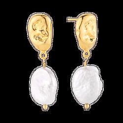 Kolczyki z perłami Monaco