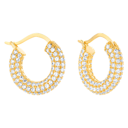 Kolczyki Calabasas Gold