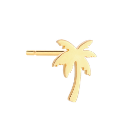 Kolczyk Palm Gold