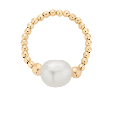 Pierścionek z perłą Pearl Power