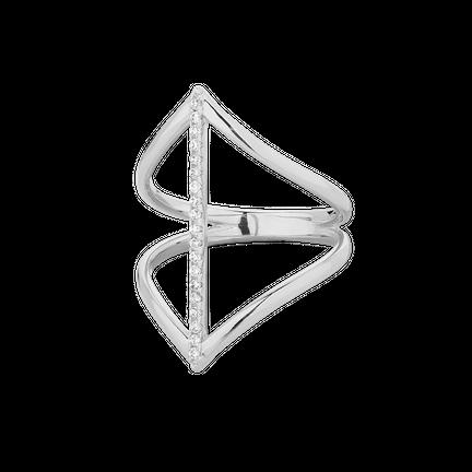 Pierścionek Bow