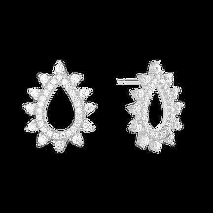 Kolczyki Mini Drops Silver
