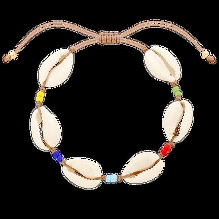 Bransoletka z muszelkami Rainbow Shell