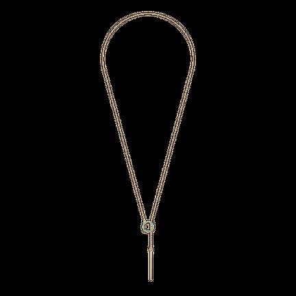 Naszyjnik Karma Turquoise Gold