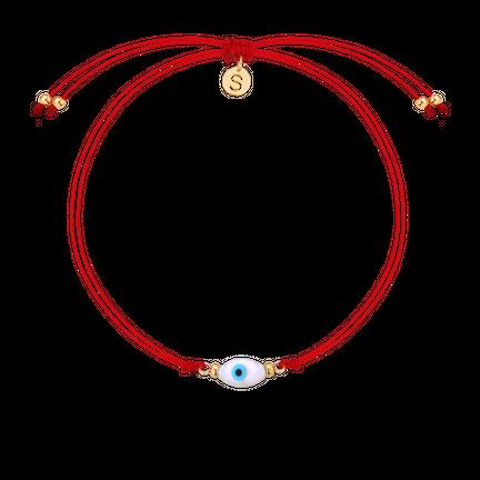 Bransoletka Amulet Red