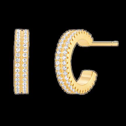Kolczyki Mini Shine Gold