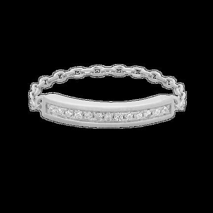 Pierścionek Chain Srebrny