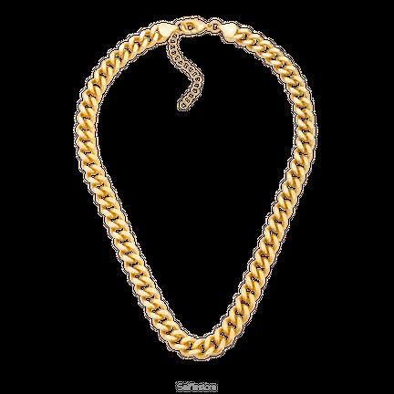 Naszyjnik z łańcuchem Kim Gold