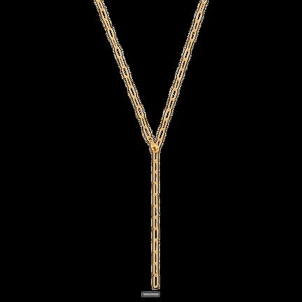 Naszyjnik z łańcuchem Sunset Av Gold