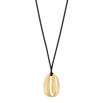 Naszyjnik z muszelką Golden Shell