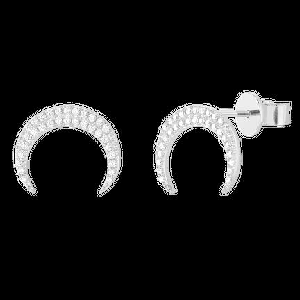 Kolczyki Eclipse Silver