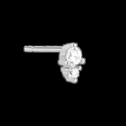 Kolczyk Dewdrop Silver